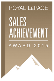 Royal LePage Sales Achievement Award