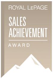 Royal LePage Sales Achievement Award