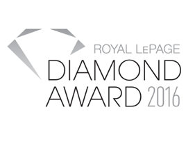 Royal LePage Diamond Award - Top 3% in Canada