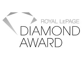 Royal LePage Diamond Award - Top 3% in Canada